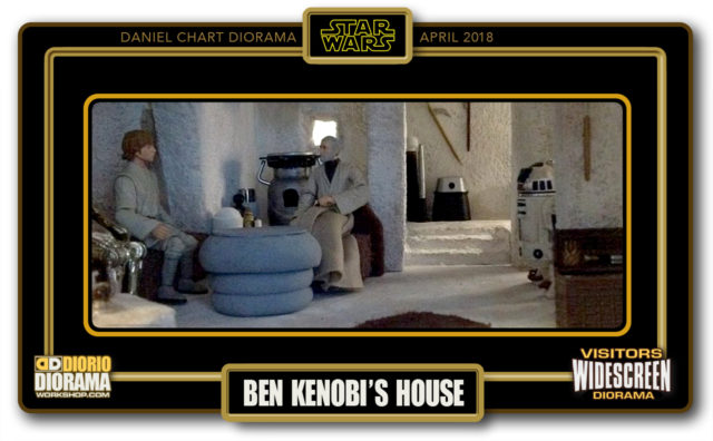 VISITORS WIDESCREEN DIORAMA • CHART • BEN KENOBI HOUSE