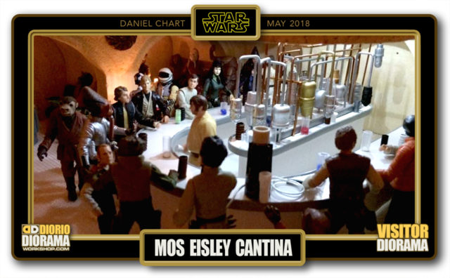 VISITORS HD DIORAMA • CHART • MOS EISLEY CANTINA