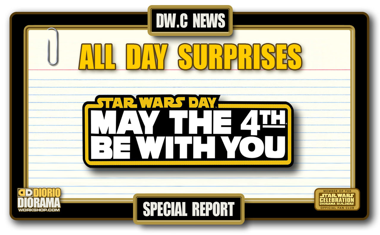 SPECIAL REPORT : MAY THE 4th 2018