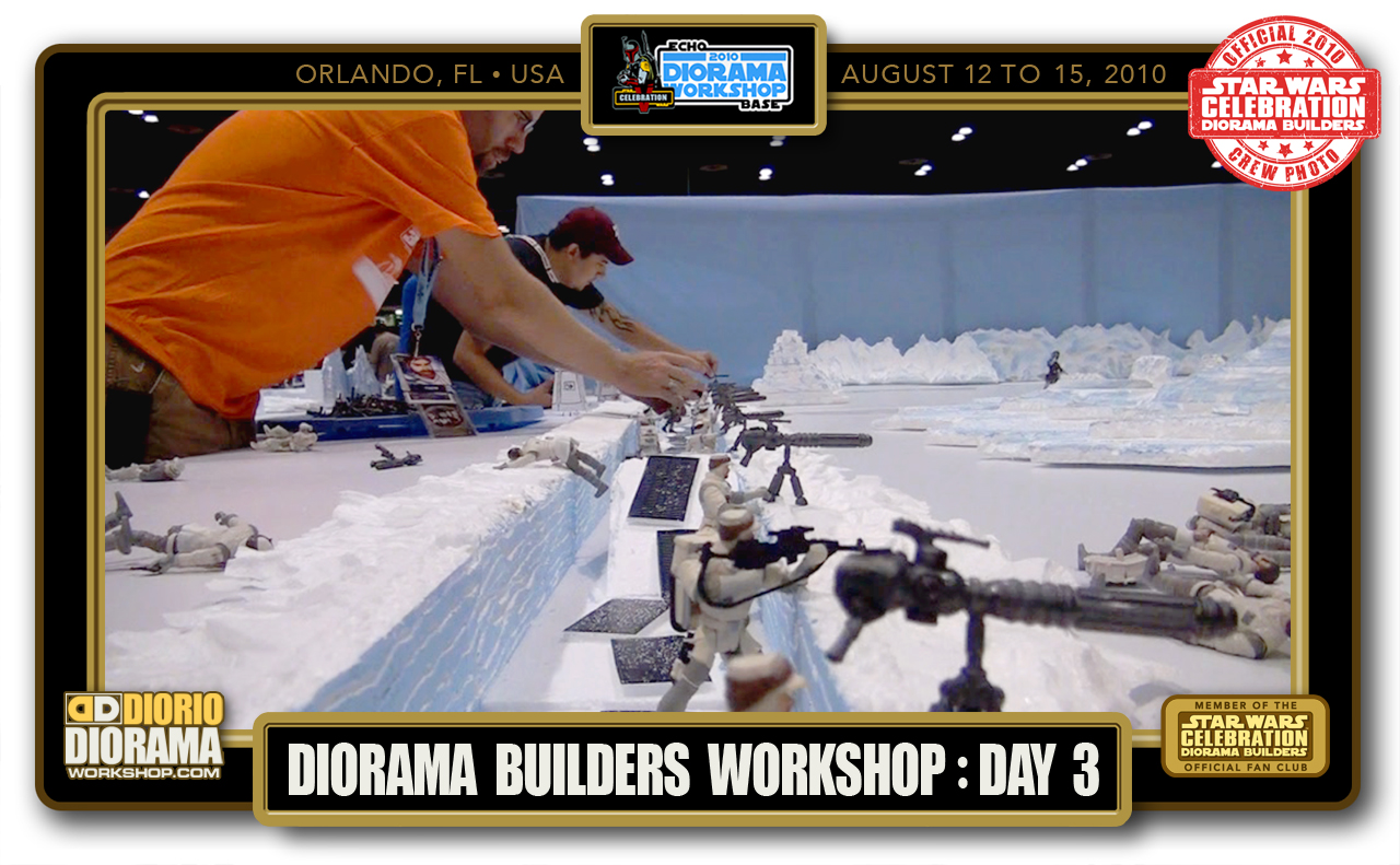 CONVENTIONS • C5 PRODUCTION • DIORAMA BUILDERS WORKSHOP DAY 3