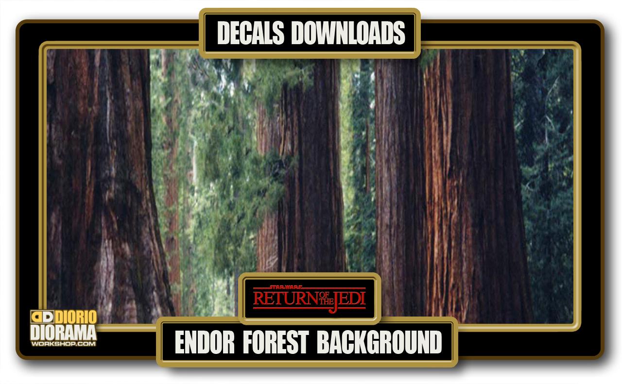 Tutorials Decals Endor Forest Diorama Workshop Com
