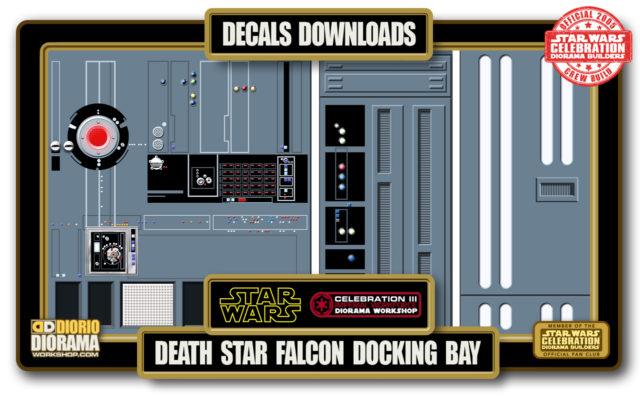 TUTORIALS • DECALS • DEATH STAR FALCON BAY