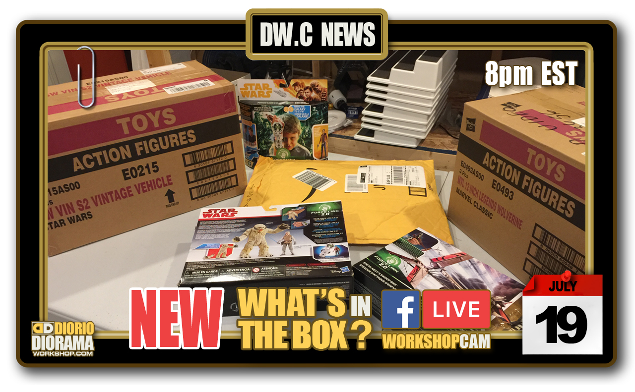 DW.C NEWS : NEW WHAT'S IN THE BOX LIVE STREAM
