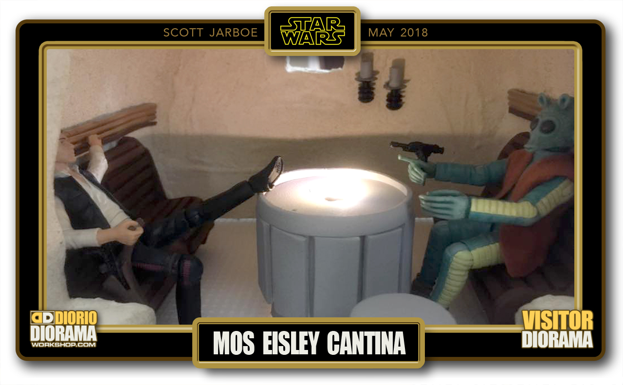 VISITORS HD DIORAMA • JARBOE • MOS EISLEY CANTINA