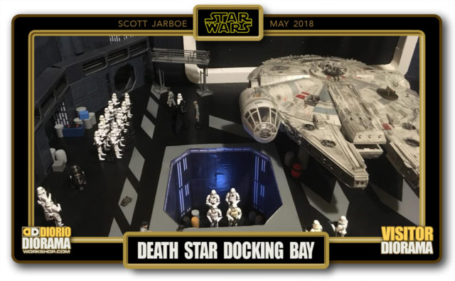 VISITORS HD DIORAMA • JARBOE • DEATH STAR DOCKING BAY