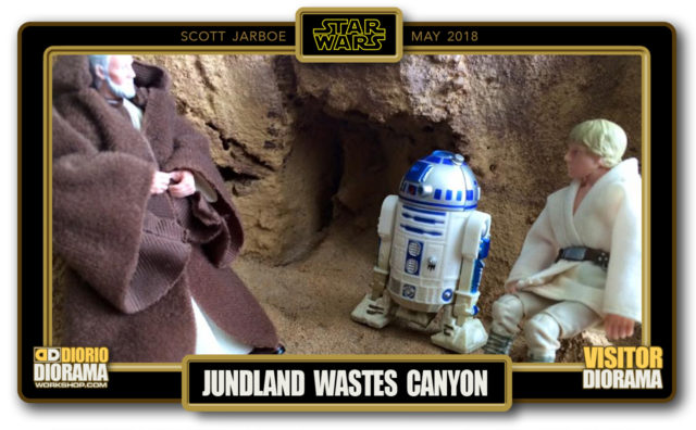 VISITORS HD DIORAMA • JARBOE • JUNDLAND WASTES CANYON