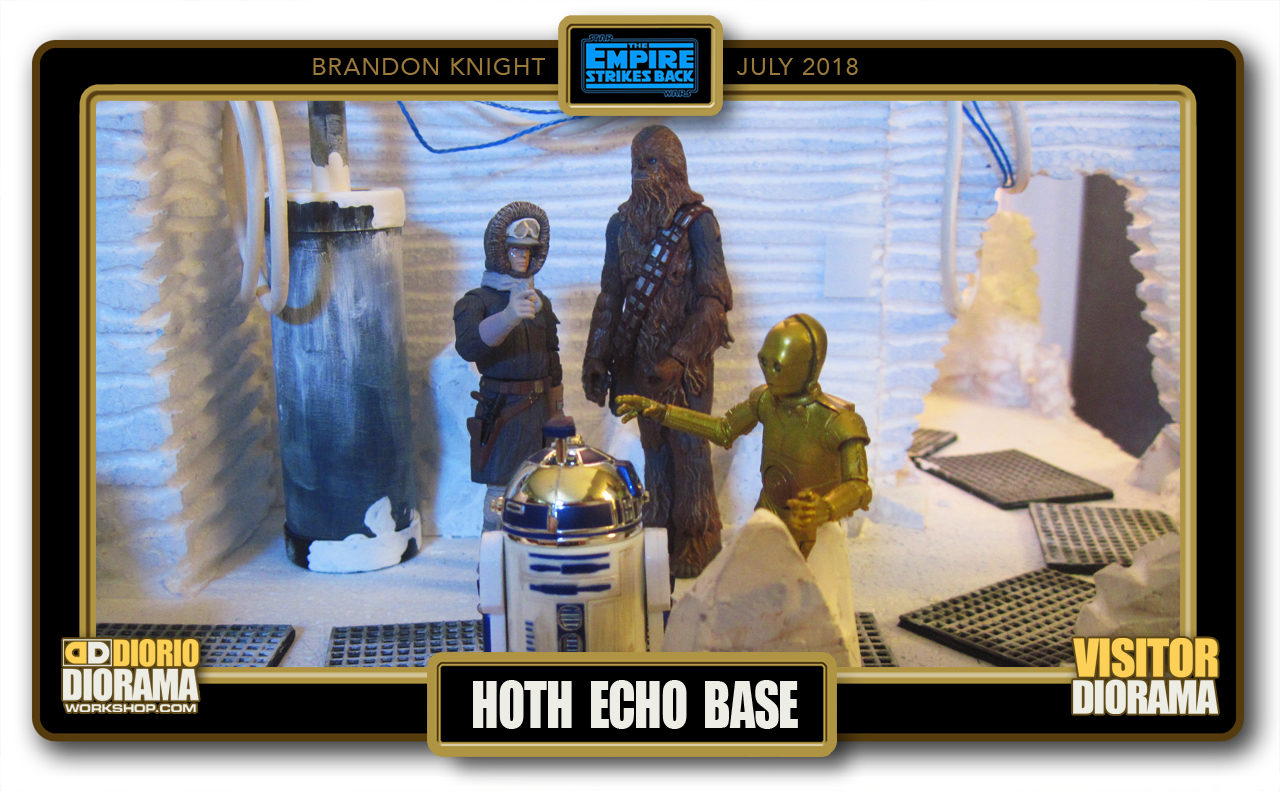 VISITORS DIORAMA • KNIGHT • HOTH ECHO BASE