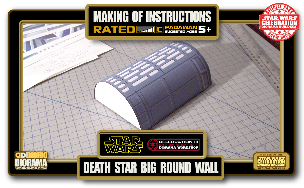 TUTORIALS • MAKING OF • BIG ROUND WALL