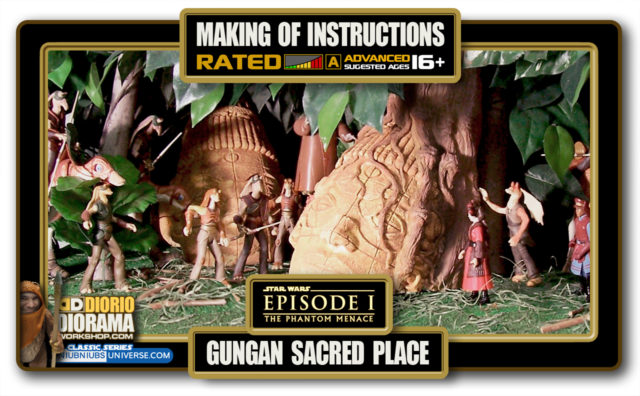 TUTORIALS • MAKING OF • GUNGAN SACRED PLACE