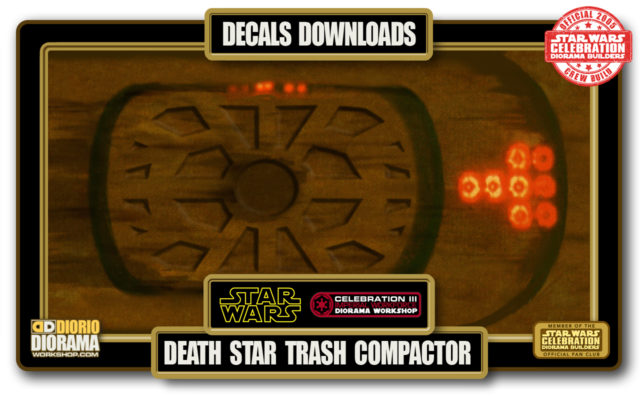 TUTORIALS • DECALS • DEATH STAR TRASH COMPACTOR