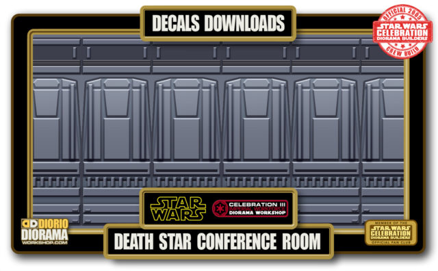 TUTORIALS • DECALS • DEATH STAR CONFERENCE ROOM