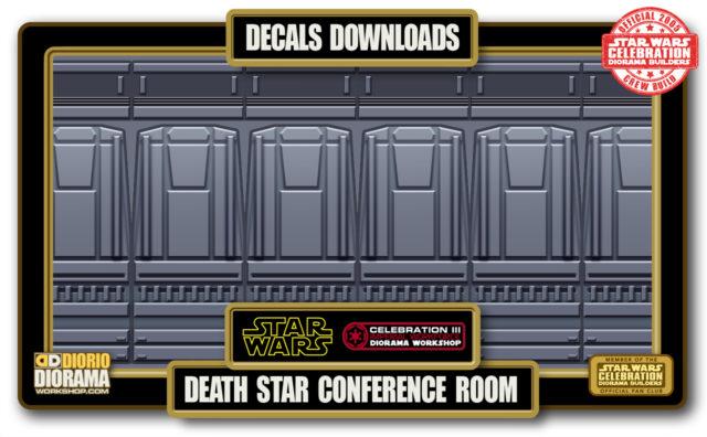 TUTORIALS • DECALS • DEATH STAR CONFERENCE ROOM