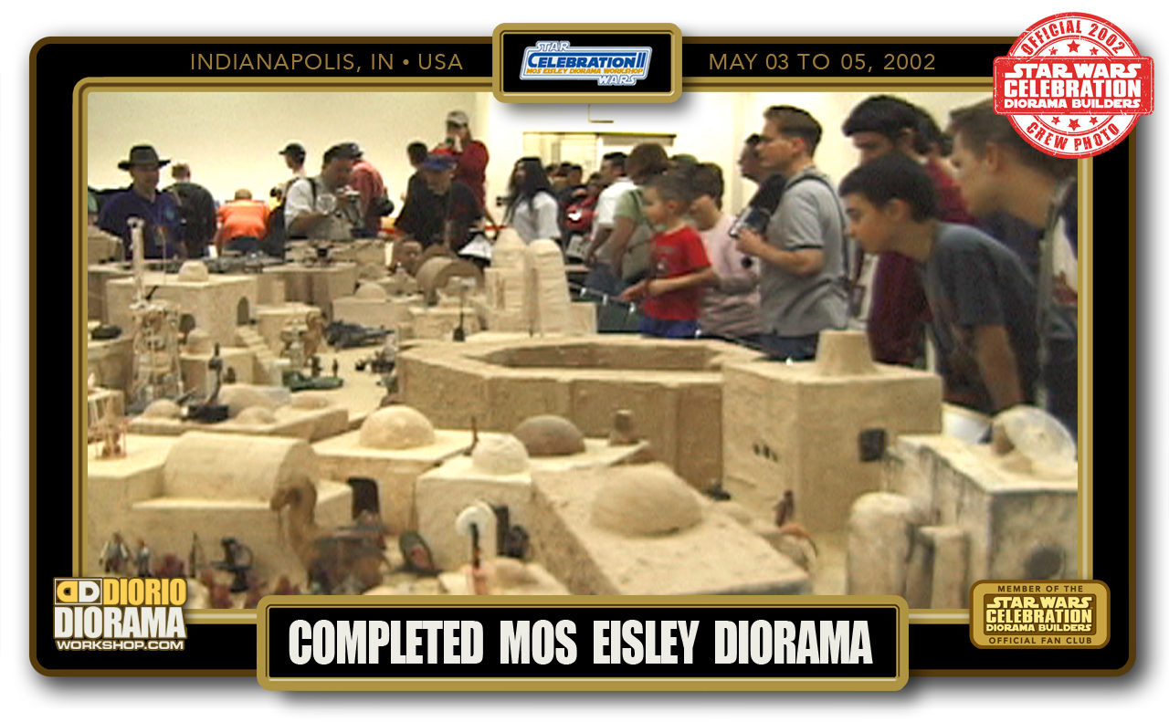 CONVENTIONS • C2 PRODUCTION • COMPLETED MOS EISLEY DIORAMA