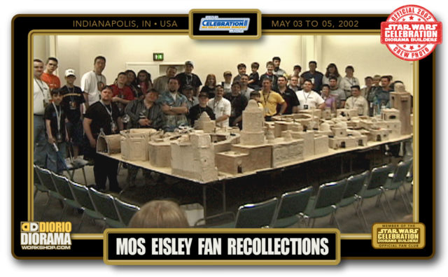 CONVENTIONS • C2 POST PRODUCTION • MOS EISLEY FAN RECOLLECTIONS