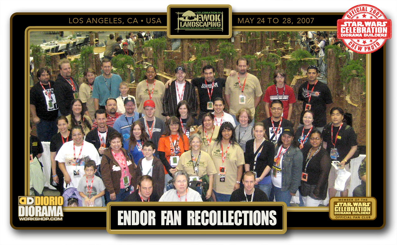 CONVENTIONS • C4 POST PRODUCTION • ENDOR FAN RECOLLECTIONS