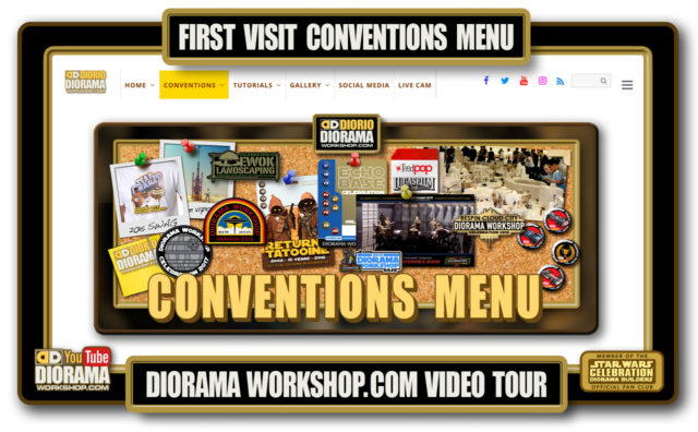 HOME • SPECIAL REPORT • FIRST VISIT CONVENTIONS MENU VIDEO TOUR