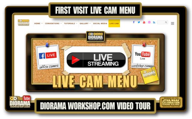 HOME • SPECIAL REPORT • FIRST VISIT LIVE CAM MENU VIDEO TOUR