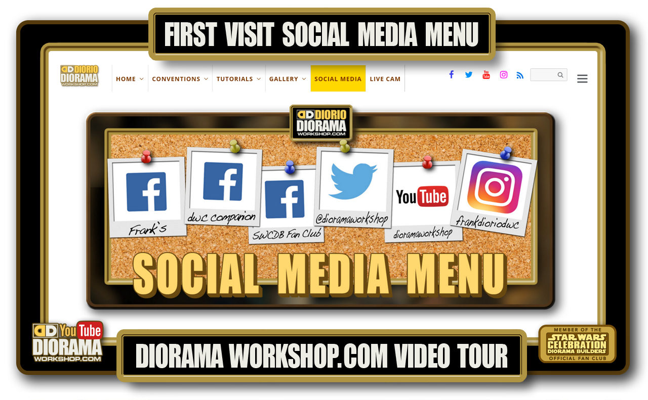HOME • SPECIAL REPORT • FIRST VISIT SOCIAL MEDIA MENU VIDEO TOUR