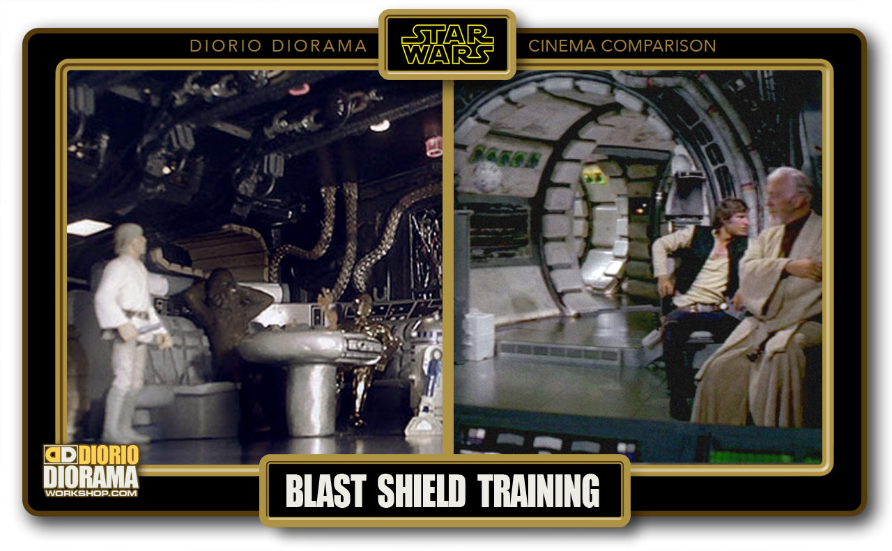 DIORIO DIORAMA • CINEMA COMPARISON • BLAST SHIELD TRAINING