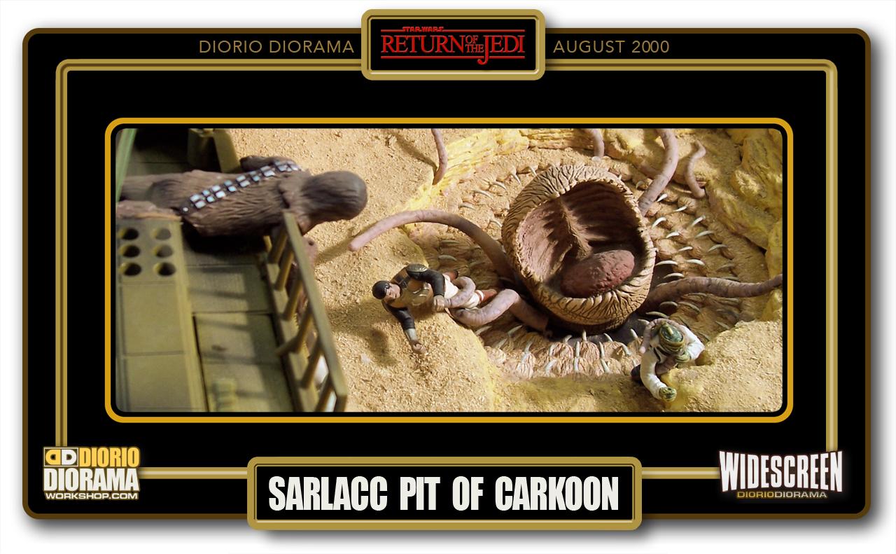 DIORIO DIORAMAS • HD WIDECREEN • SARLACC PIT OF CARKOON