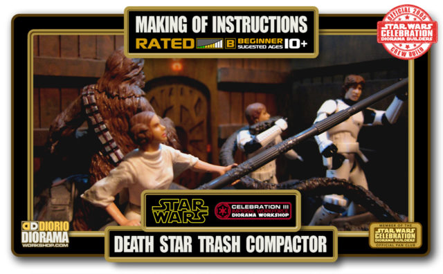 TUTORIALS • MAKING OF • DEATH STAR TRASH COMPACTOR