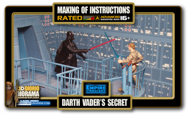 TUTORIALS • MAKING OF • DARTH VADER'S SECRET