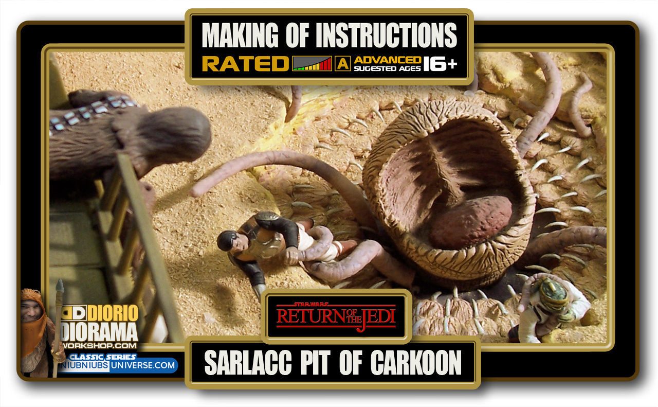 TUTORIALS • MAKING OF • SARLACC PIT OF CARKOON