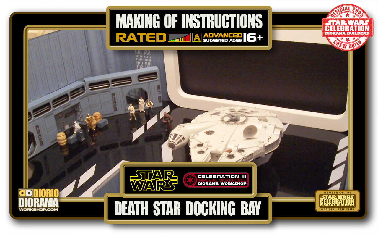 TUTORIALS • MAKING OF • DEATH STAR DOCKING BAY