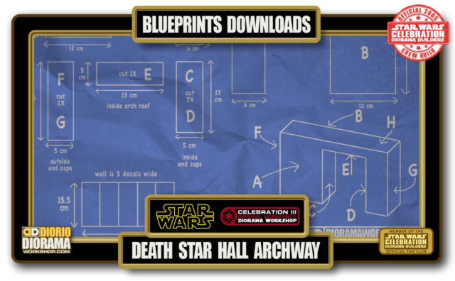 TUTORIALS • BLUEPRINTS • DEATH STAR HALL ARCHWAY