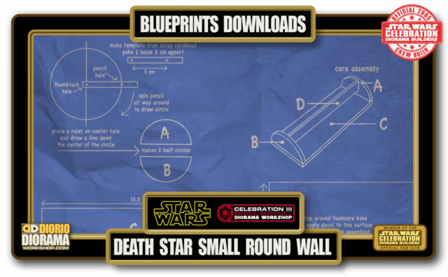 TUTORIALS • BLUEPRINTS • DEATH STAR SMALL ROUND PANEL
