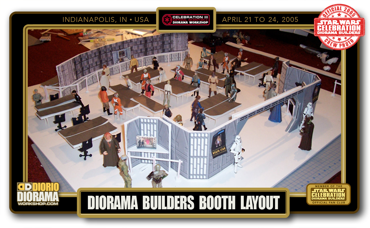 CONVENTIONS • C3 PRE PRODUCTION • BOOTH LAYOUT