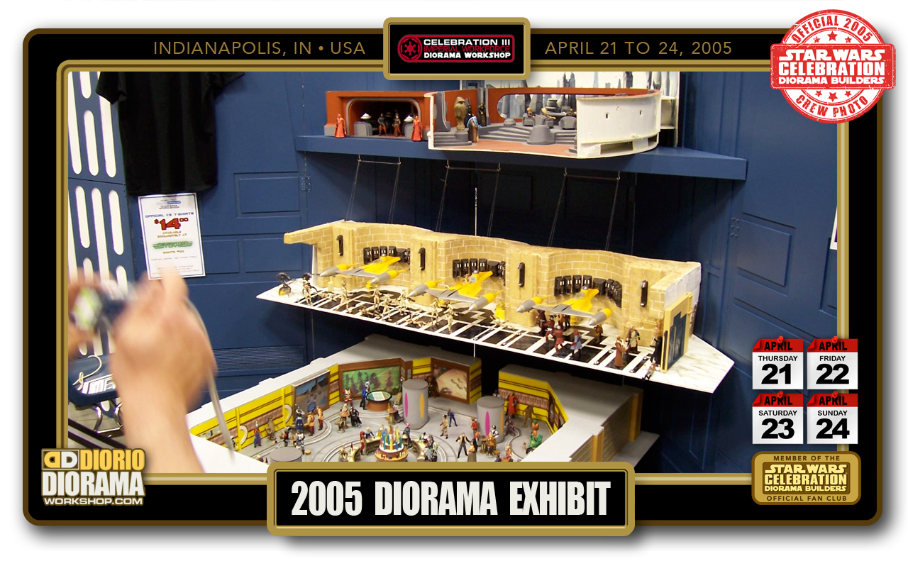 CONVENTIONS • C3 PRODUCTION • 2005 DIORAMA EXHIBIT