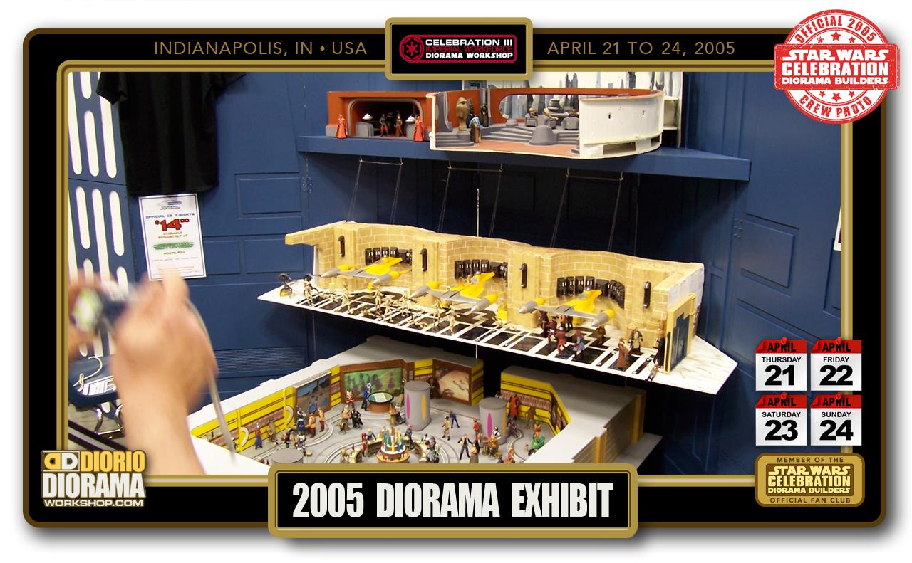 CONVENTIONS • C3 PRODUCTION • 2005 DIORAMA EXHIBIT