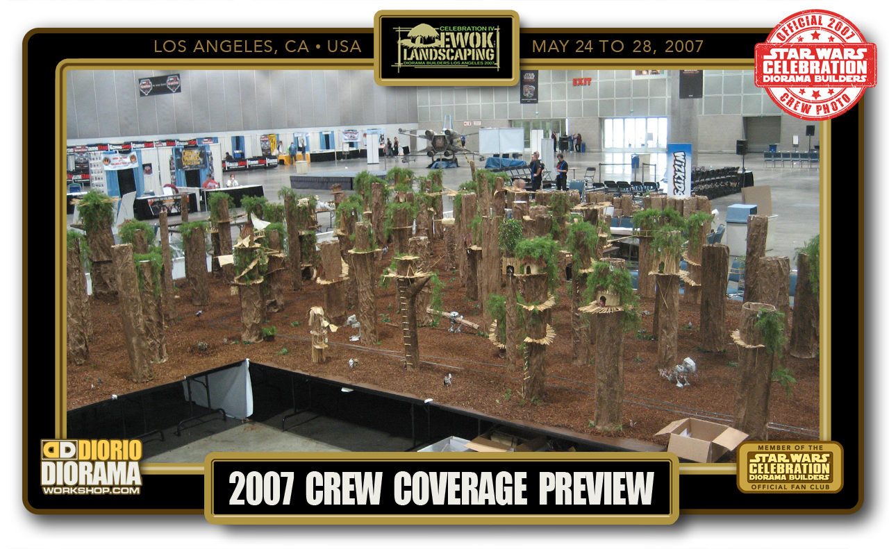 CONVENTIONS • C4 PRODUCTION • EWOK LANDSCAPING PREVIEW