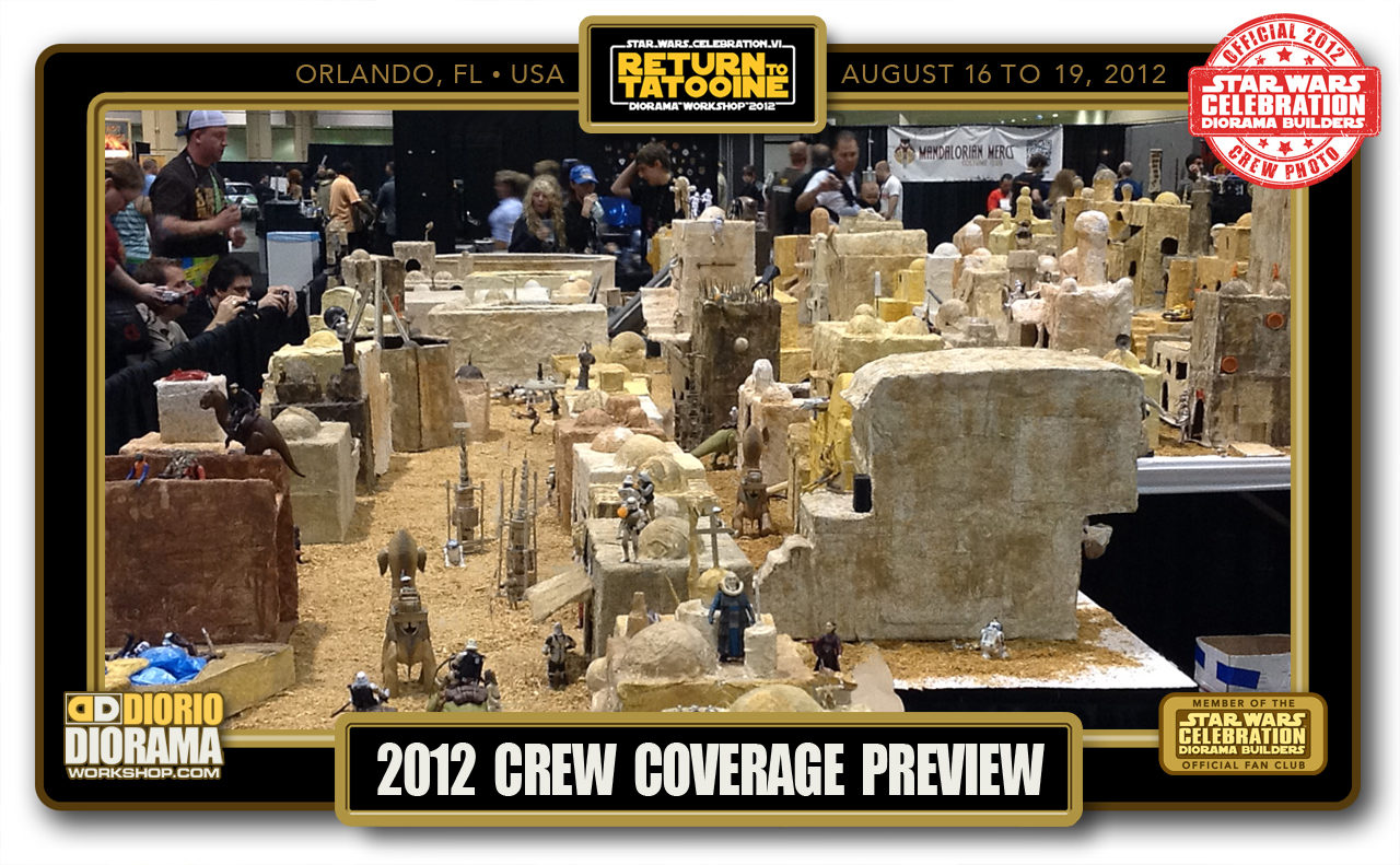 CONVENTIONS • C6 PRODUCTION • RETURN TO TATOOINE PREVIEW