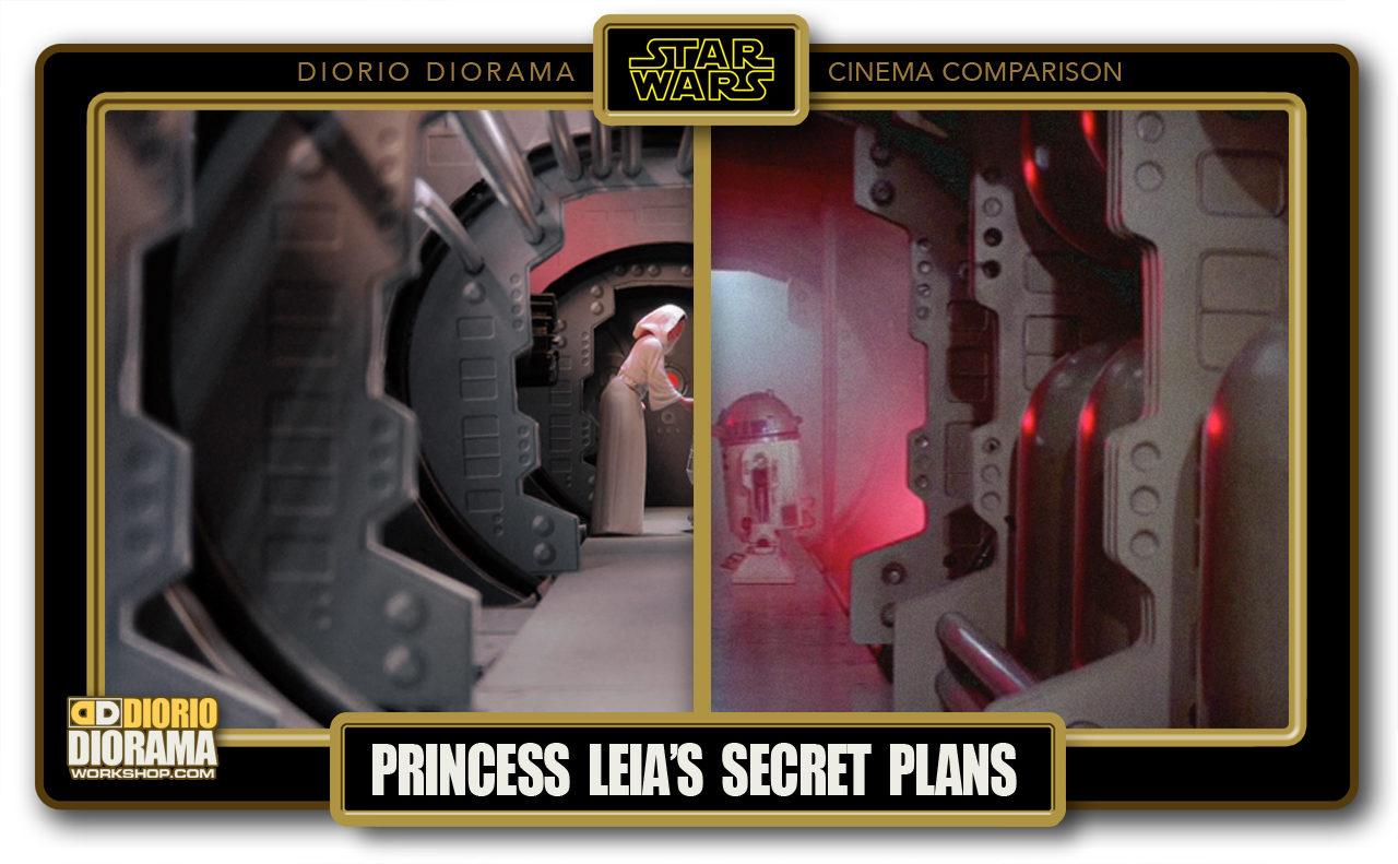 DIORIO DIORAMA • CINEMA COMPARISON • PRINCESS LEIA'S SECRET PLANS
