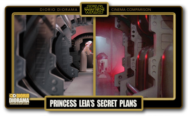 DIORIO DIORAMA • CINEMA COMPARISON • PRINCESS LEIA'S SECRET PLANS
