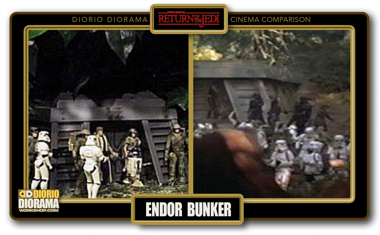 DIORIO DIORAMA • CINEMA COMPARISON • ENDOR BUNKER