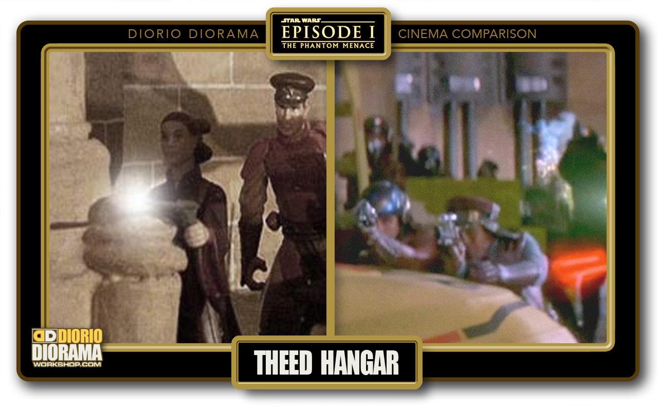 DIORIO DIORAMA • CINEMA COMPARISON • THEED HANGAR