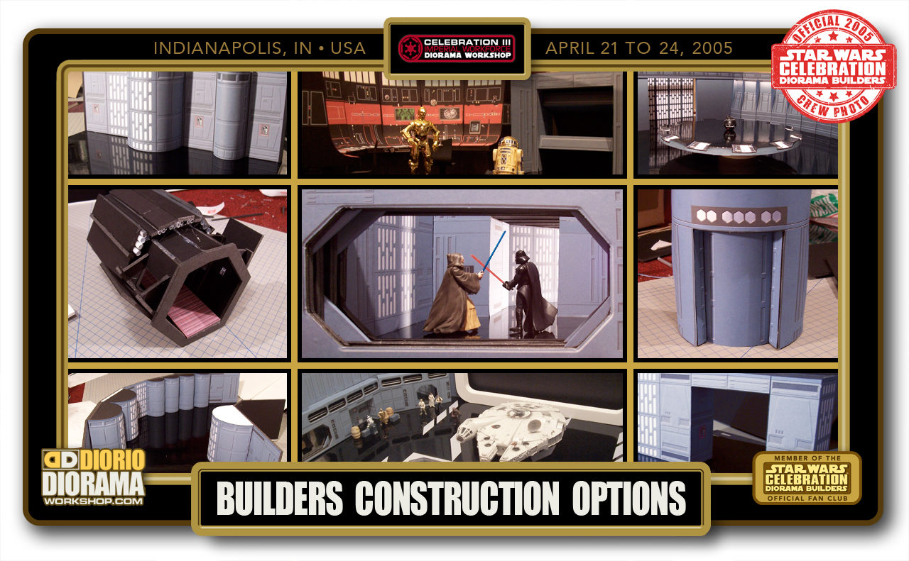CONVENTIONS • C3 PRE PRODUCTION • BUILDERS OPTIONS