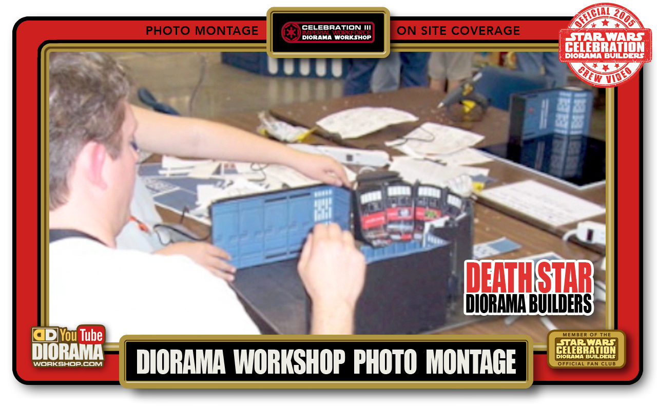 CONVENTIONS • C3 VIDEO • DIORAMA WORKSHOP PHOTO MONTAGE