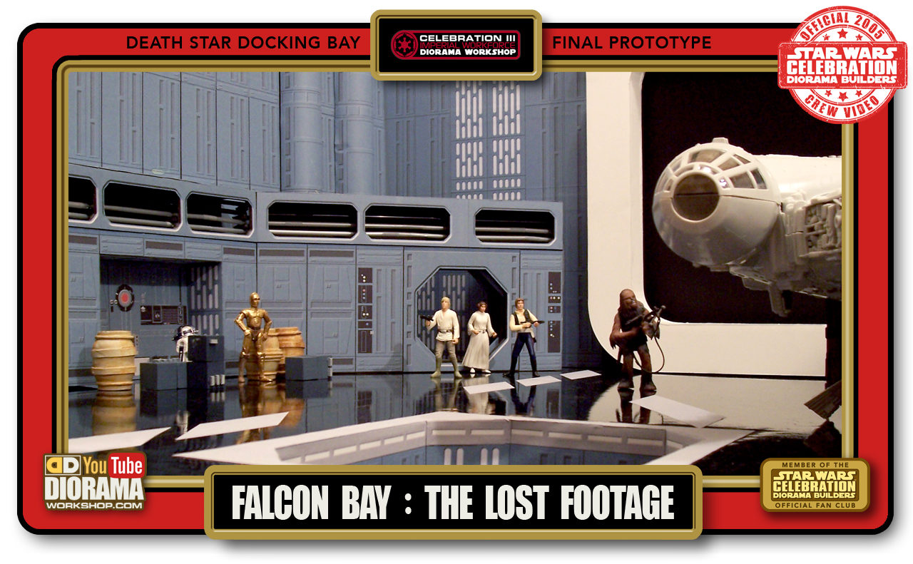 CONVENTIONS • C3 VIDEO • DEATH STAR FALCON BAY THE LOST FOOTAGE