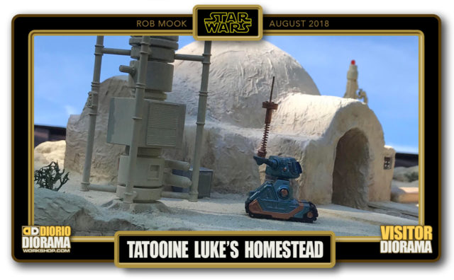 VISITORS DIORAMA • MOOK • TATOOINE LUKE'S HOMESTEAD