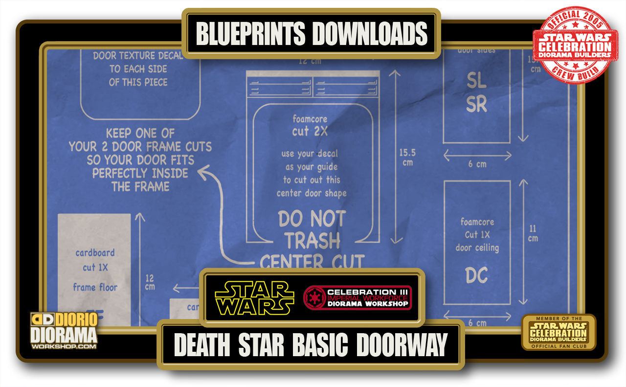 TUTORIALS • BLUEPRINTS • DEATH STAR BASIC DOORWAY