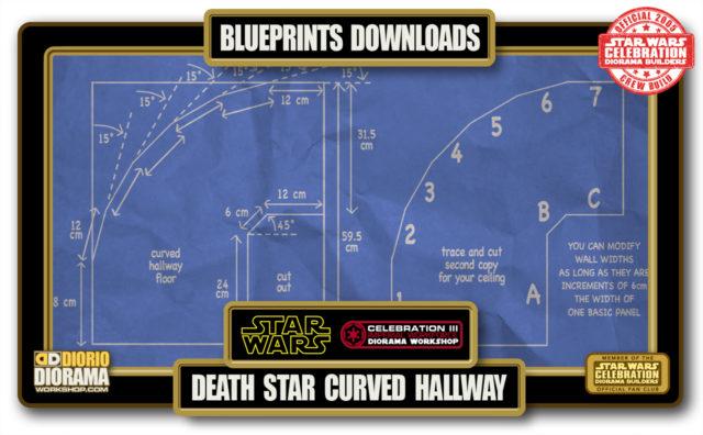 TUTORIALS • BLUEPRINTS • DEATH STAR CURVED HALLWAY