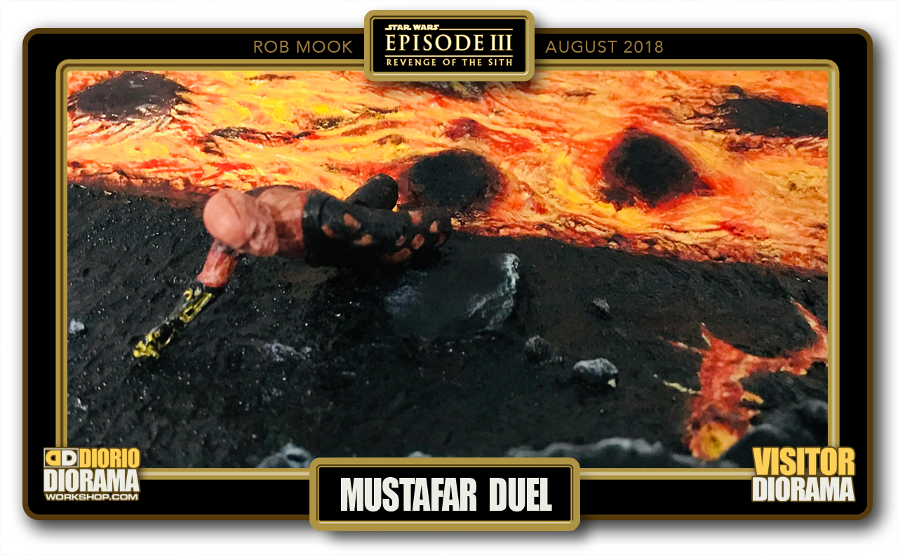 VISITORS DIORAMA • MOOK • MUSTAFAR DUEL
