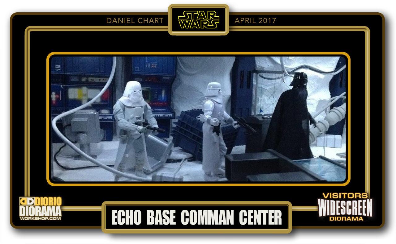 VISITORS WIDESCREEN DIORAMA • CHART • ECHO BASE COMMAND CENTER