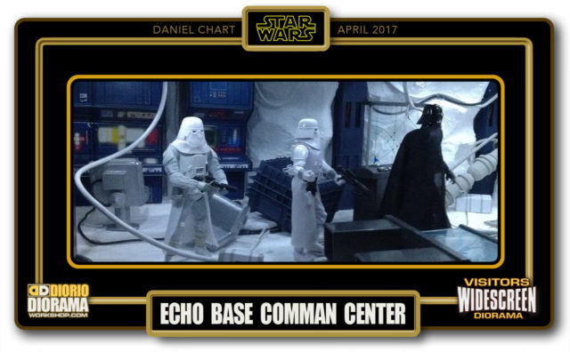 VISITORS WIDESCREEN DIORAMA • CHART • ECHO BASE COMMAND CENTER
