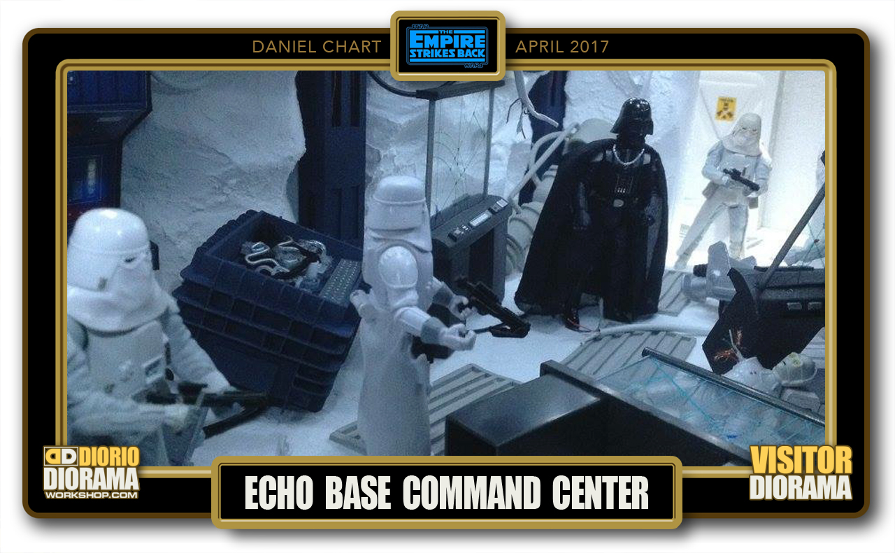 VISITORS HD DIORAMA • CHART • ECHO BASE COMMAND CENTER