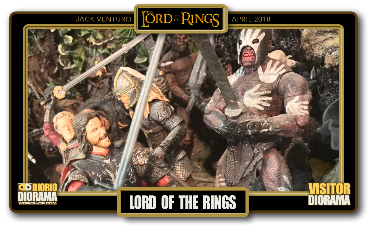 VISITORS DIORAMA • VENTURO • LORD OF THE RINGS